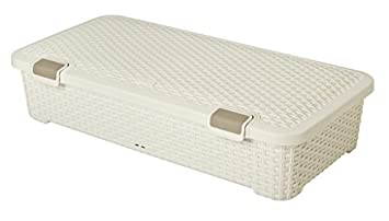 Curver Rattan Under Bed Storage Box 42L (315830) by Curver  sc 1 st  Amazon.com & Amazon.com: Curver Rattan Under Bed Storage Box 42L (315830) by ... Aboutintivar.Com