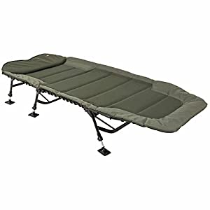 JRC Defender Wide Levelbed Bedchair, Green