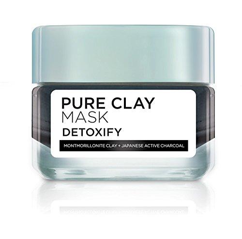 L'Oreal Pure Clay Illuminating Mask, 1.7 Ounce