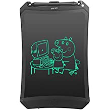 NewYes Robot pad 8.5 Inch LCD Writing tablet- electronic writing doodle pad Drawing board gifts for kids office writing board - Erase Button Lock Included(Black)