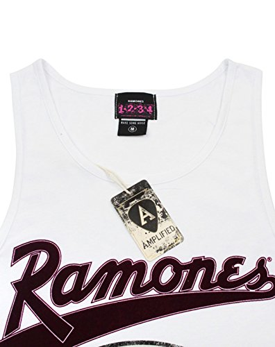 Tank Ramones Amplified Top Clothing Hommes aqzgxwYtE