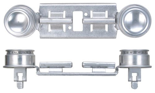 GE WB29K17/WB16K10026 Gas Range Double Burner Assembly