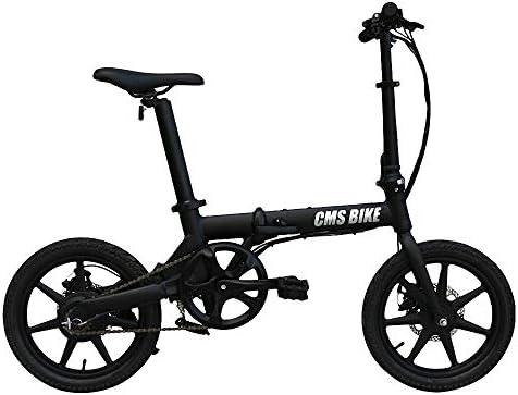 CBA BING Bicicleta eléctrica Plegable: portátil y fácil de ...