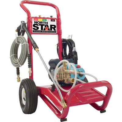 NorthStar Electric Cold Water Pressure Washer - 2000 PSI, 1.5 GPM, 120 Volt
