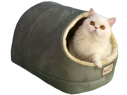 Armarkat Sage Green Cat Bed Size, 18-Inch by 14-Inch (International Cat)
