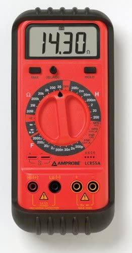 Amprobe LCR55A Inductance, Capacitance, and Resistance Tester