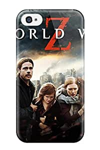 CaseyKBrown Design High Quality World War Z Cover Case With Excellent Style For Iphone 4/4s