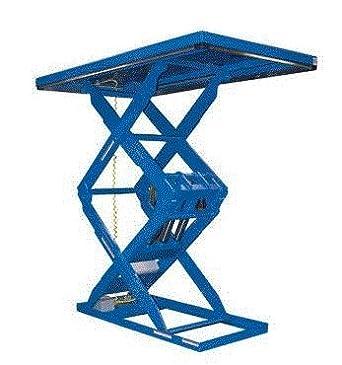4000 # Vert Co Double Scissor Lift Table Dstl-4-70 Capacity Vestil Mfg