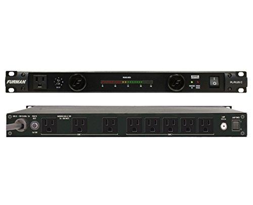 Furman PL-Plus C 15 Amp Power Conditioner + SKB 1SKB-R2U Roto Molded 2U Rack by Furman (Image #1)
