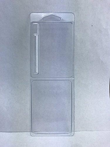 Clamshell Blister Packaging for .5 ml/1 ml oil cartridge lot - Packing Only (1 ml 30 pack)