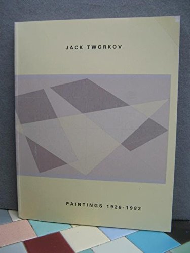 Jack Tworkov: Paintings 1928-1982, Armstrong, Richard