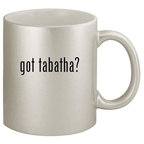 got tabatha? - Ceramic 11oz Silver Coffee Mug, Silver