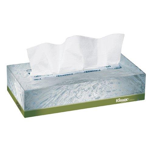 2 Ply Natural (KLEENEX Naturals Facial Tissue, 2-Ply, White, 125/Box, 48 Boxes/Carton)