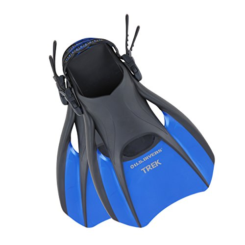 U.S Divers Trek Fin - Compact Snorkel Fins for Travel
