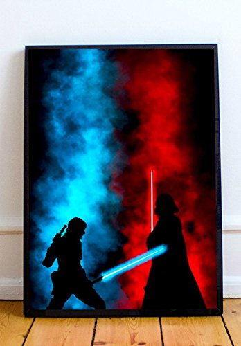 Official Star Wars Poster - Star Wars Lightsaber Limited Poster Artwork - Professional Wall Art Merchandise (More Sizes Available) (8x10)