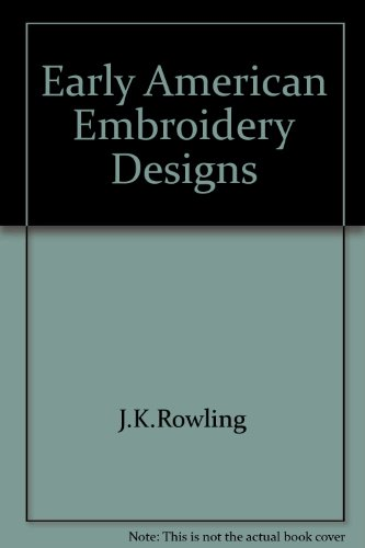 early american embroidery designs - 2