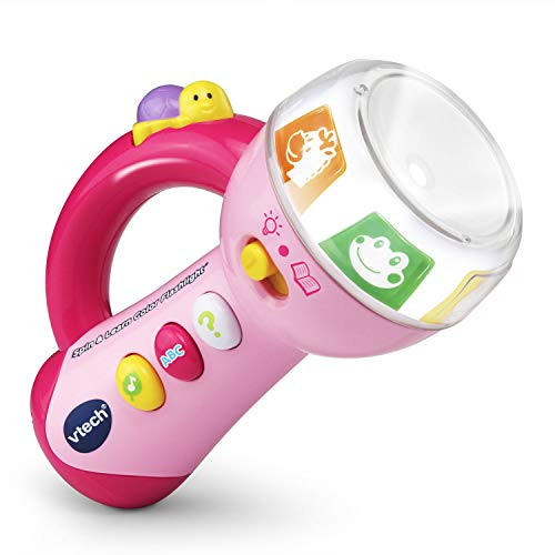 VTech Spin & Learn Color Flashlight, Pink