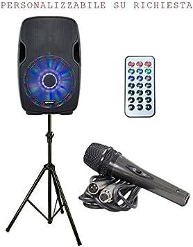 Sistema Audio 829 Pack (Difusor, micrófono y Soporte) para ...