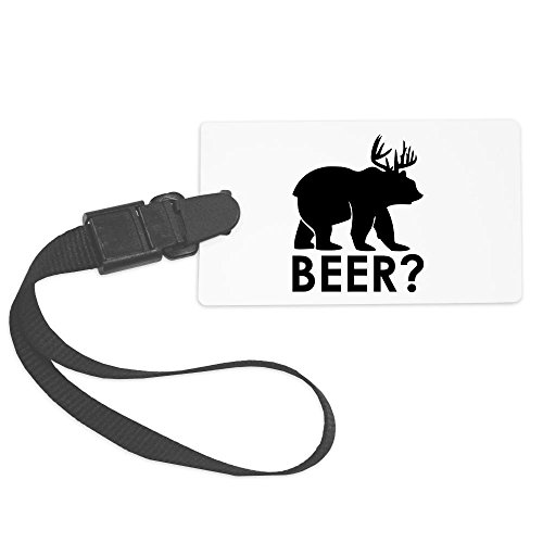 truly-teague-large-luggage-tag-deer-plus-bear-equals-beer