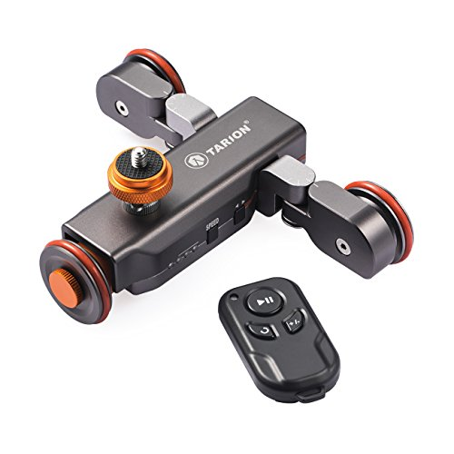 TARION Y5D Autodolly Electric Slider Motorized Pulley Car Auto Dolly Rolling Skater with Wireless Remote for Sony Canon Nikon DLSR Camera Video Camcorder Iphone by TARION