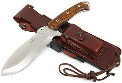JEO-TEC N 55 Bushcraft Survival Hunting Camping Knife