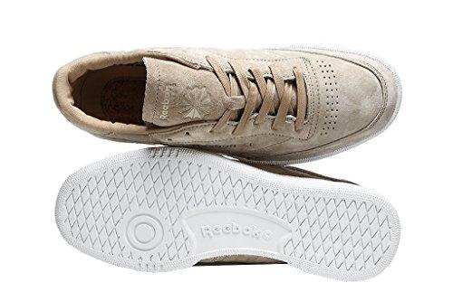 Reebok Club C 85 Boots In Beige Suede BD1897 Beige discount best sale top quality MWTZTqEJ