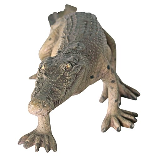 Design Toscano The Grand-Scale Wildlife Animal Collection: The Walking Crocodile Statue by Design Toscano (Image #2)