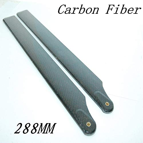 Part & Accessories CF-3A 288mm(B) CF main blade for electric 450 helicopter(288mm) ()