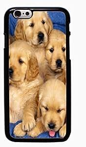 Golden Retriever Dog Hard Case for Apple iPhone 6 6G 4.7 ( Sugar Skull )