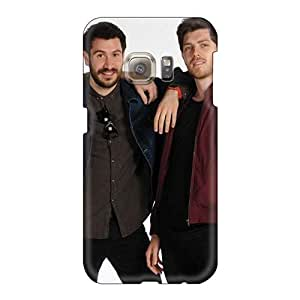 Perfect Cell-phone Hard Covers For Samsung Galaxy S6 (NcJ13443eCfh) Customized Trendy Macbeth Band Pattern