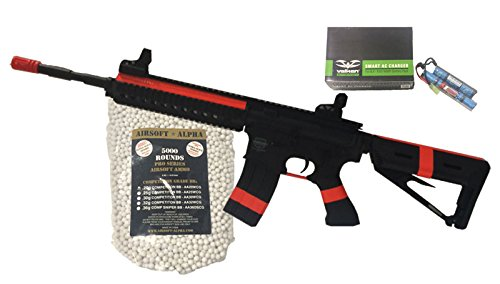 Valken Battle Machine Mod L Black Airsoft Alpha Viper Package (NY/CA Compliant) by AirsoftAlpha
