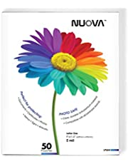 Nuova LP55H Thermal Laminating Pouches 9 x 11.5 Inches, Letter Size, 5 mil, 50-Pack