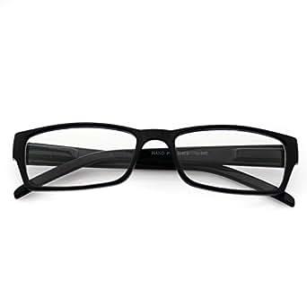 Glossy Tiny Small Square Wayfarer Nerd Glasses Thin Frame