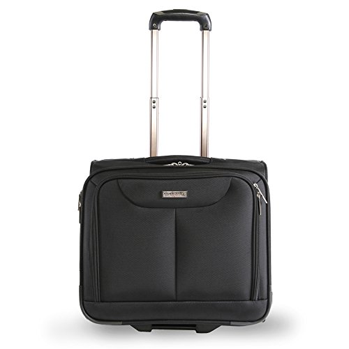 Pacific Coast Rolling Laptop Business Briefcase, Black ()