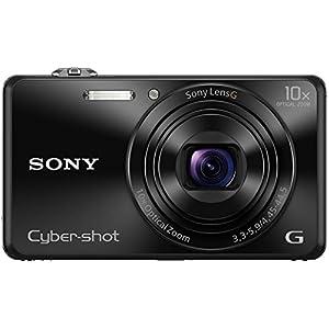 Sony Cybershot DSC-WX220/B 18.2MP Digital Camera (Black)