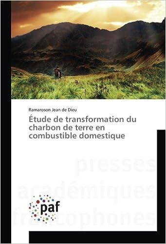Book Étude de transformation du charbon de terre en combustible domestique
