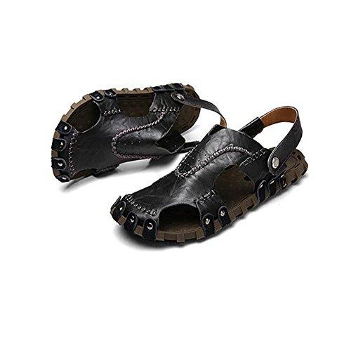1 Traspiranti 0 Sandali Leisure Da CM pantofole 27 EU 3 Spiaggia Scarpe Nero Da Sandali Nero Dimensione Outdoor Uomo 39 0 Colore Neri Wagsiyi da spiaggia 24 gzq6x