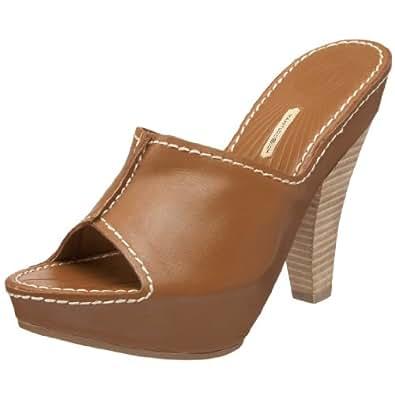 Maxstudio Women's Amor Platform Sandal,Cuoio,6.5 M US