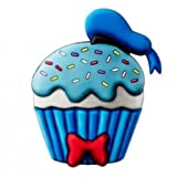 Disney Donald Duck Cup Cake Scented PVC Magnet, Multi-Colored, 3