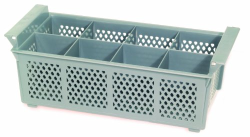 Crestware Flatware Basket, 8 Compartments (Dishwasher Flatware Basket)