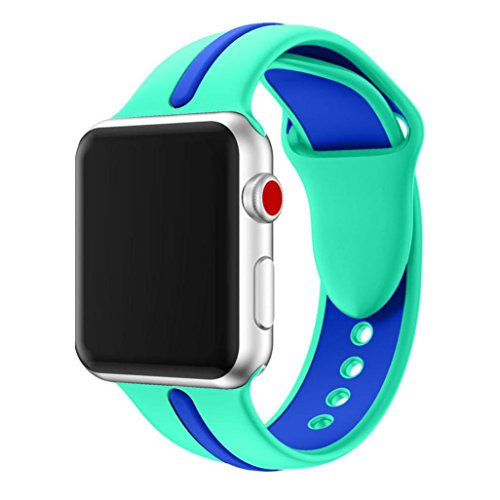 Amazon.com: Inverlee Apple Watch Band Replacement Sports ...