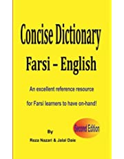 Farsi - English Concise Dictionary: An excellent reference resource for Farsi learners to have on-hand!
