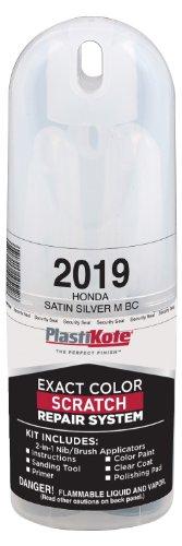 PlastiKote 2019 Honda Satin Silver Metallic Base Coat Scratch Repair
