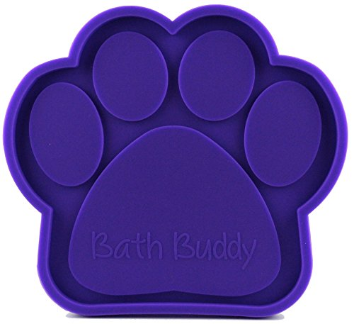 K9 Bath Buddy for Dogs - The Ultimate Dog Bath Toy - Makes Bath Time Easy, Just Spread Peanut Butter and Stick - Featured on USA (Bath Buddy)