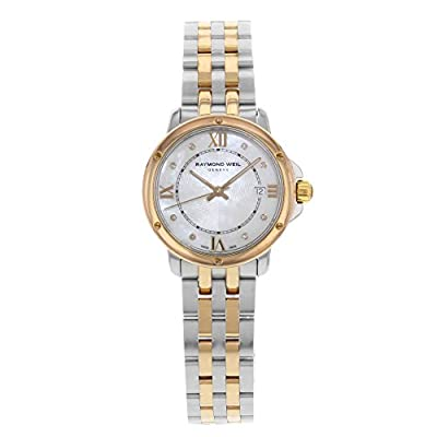 Raymond Weil Tango Two-Tone Ion Plated Steel Quartz Ladies Watch 5391-SB5-00995 (Certified Pre-Owned) from Raymond Weil