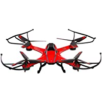 Top Quality Cyclone Remote Control Drone RC Quadcopter with HD Camera, 2.4GHz 4-Channel with Gyroscope, 360 Degrees Flips, Multi Flying Directions, Long flight distance and flight time, Great Fun