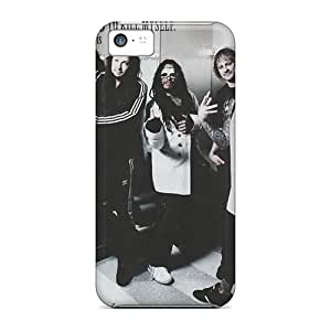 Iphone 5c Nom9857lBPQ Allow Personal Design Lifelike Korn Image Anti-Scratch Hard Phone Case -JonathanMaedel
