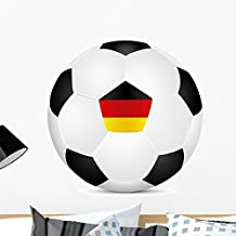 Wallmonkeys Soccer Germany Wall Decal Peel and Stick Graphic WM306613 (24 in W x 19 in H)