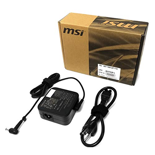 Genuine 90W AC/DC Power Adapter (957-16S12P-115) for MSI PS63 (with GTX 1050/1050 Ti/1650) Laptops