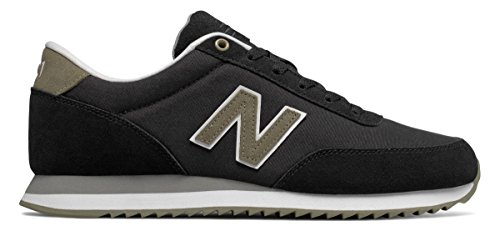 回路延ばす性交(ニューバランス) New Balance 靴?シューズ メンズライフスタイル 501 Textile Black with Hemp ブラック US 8.5 (26.5cm)